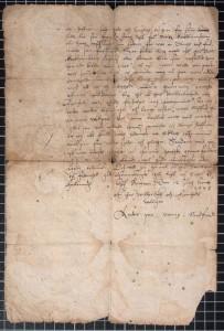 UBB Diplomsamlingen 1578 Juni 12